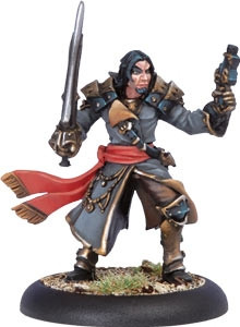 Warmachine: Mercenaries - Privateer Warcaster Phinneus Shae