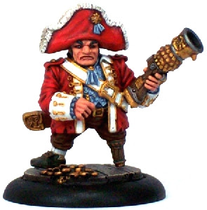Warmachine: Mercenaries - Privateer Lord Rockbottom