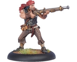 Warmachine: Mercenaries - Privateer Sea Dog Rifleman