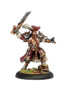 Warmachine: Mercenaries - Warcaster Captain Bartolo Montado (On Sale)