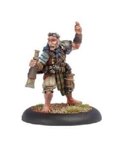 Warmachine: Mercenaries - Master Gunner Dougal MacNaile (On Sale)