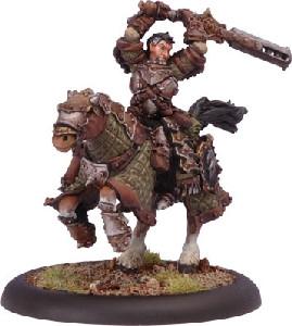 Warmachine: Mercenaries - Stannis Brocker Character Cavalry