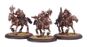 Warmachine: Mercenaries - Steelhead Heavy Cavalry Unit Box (3)