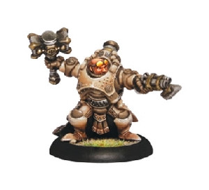 Warmachine: Mercenaries - Rhulic Warcaster Gorten Grundback