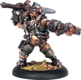 Warmachine: Mercenaries - Drake MacBain