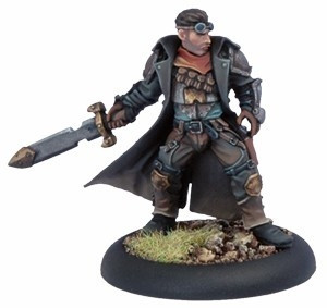 Warmachine: Mercenaries - Rutger Shaw