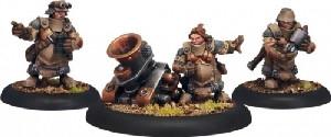 Warmachine: Mercenaries - Horgenhold Artillery Corps (3)