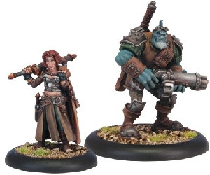 Warmachine: Mercenaries - Dannon Blyth & Bull