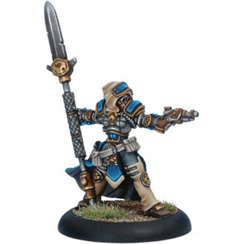 Warmachine: Cygnar - Warcaster Captain Haley (Clearance)