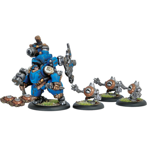 Warmachine: Cygnar - Captain Darius Box Set