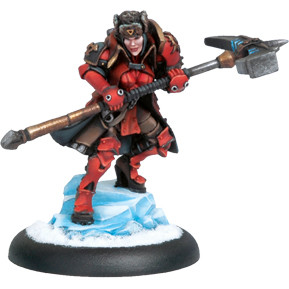 Warmachine: Khador - Epic Warcaster Forward Kommander Sorscha