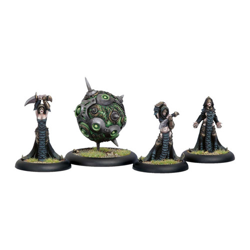 Warmachine: Cryx - Witch Coven of Garlghast & Eregore Warcasters (4)