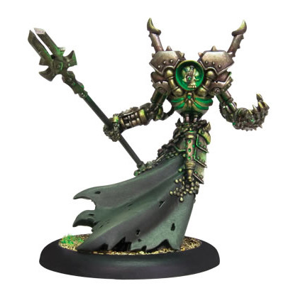 Warmachine: Cryx - Iron Lich Asphyxious (Variant)