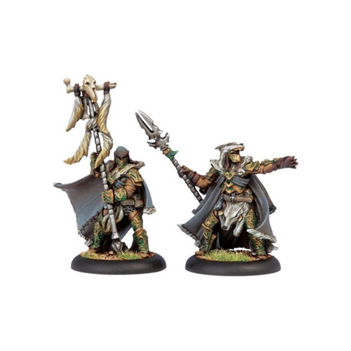 Hordes: Circle - Wolves Master of the Hunt & Totem Bearer Unit Attachment