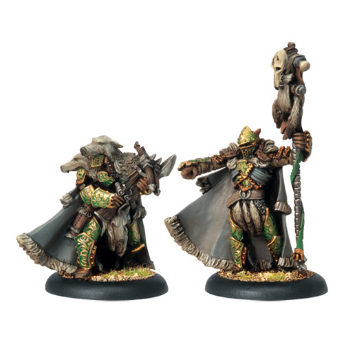 Hordes: Circle - Reeves Chieftain & Standard Unit Attachment