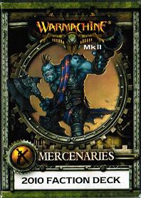 Warmachine: Mercenaries - Stat Card Faction Deck Mk II (On Sale)