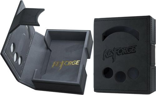 Black KeyForge: Vault - Preorder Premium Deck Box