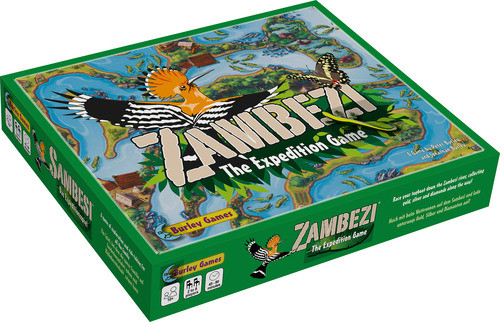 Zambezi: The Expedition Game (Clearance)