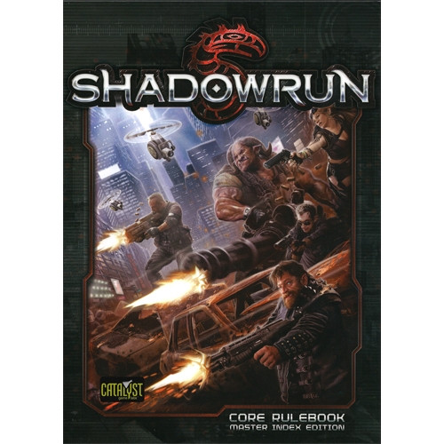 Shadowrun 5th Edition Rpg Core Rulebook