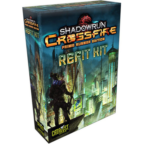 Shadowrun Crossfire: Prime Runner Refit Kit   Board Games