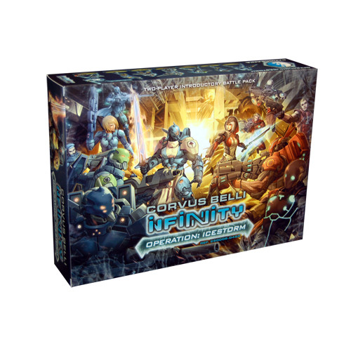Infinity: Operation Icestorm - Two-Player Introductory Battle Pack