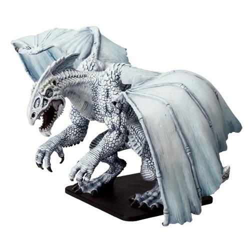 Dnd White Dragon: D&D Icons Gargantuan White Dragon (Out Of Box