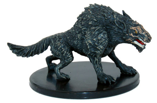 Monster Menagerie 2 031 Worg U Collectible Miniatures
