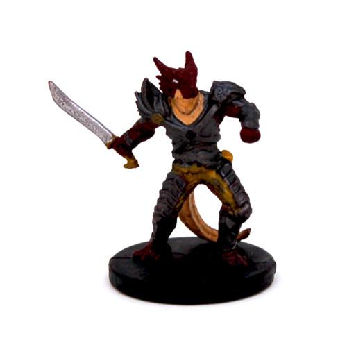 Tyranny of Dragons #036 Half Red Dragon Fighter (R ...