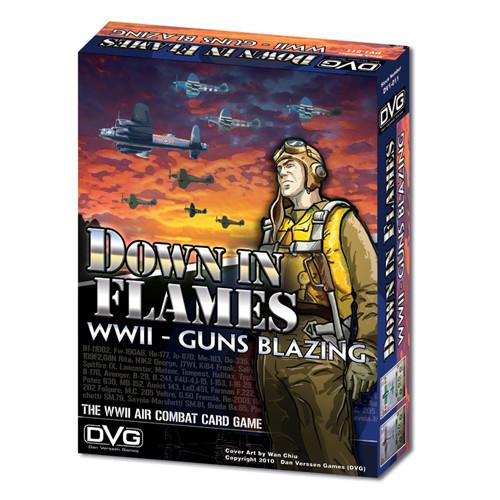 Down in Flames: WWII - Guns Blazing | Board Games