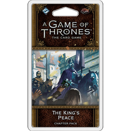 A Game of Thrones LCG (2nd Edition): The King's Peace Chapter Pack
