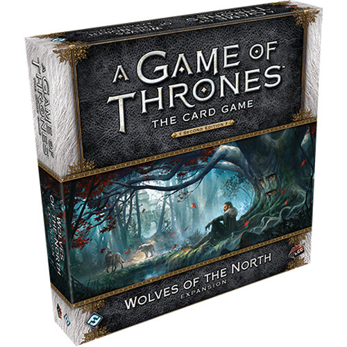 A Game of Thrones LCG (2nd Edition): Wolves of the North Deluxe Expansion