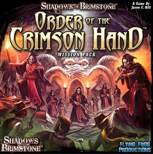 Shadows of Brimstone: Order of the Crimson Hand Mission Pack | Board