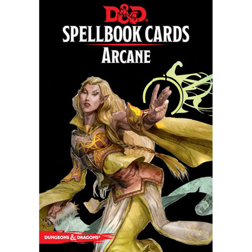 D&D 5th Edition RPG: Spellbook Cards - Arcane (Version 3) | Role