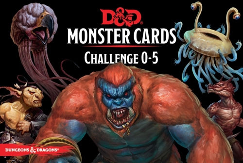 Dungeons & Dragons RPG: Monster Cards - Challenge 0-5