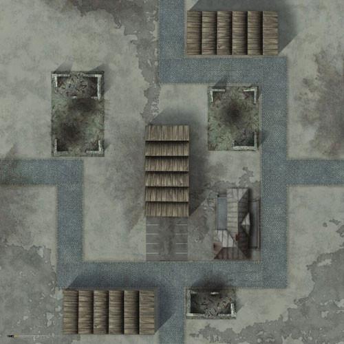 TANKS: Minsk Game Mat (36