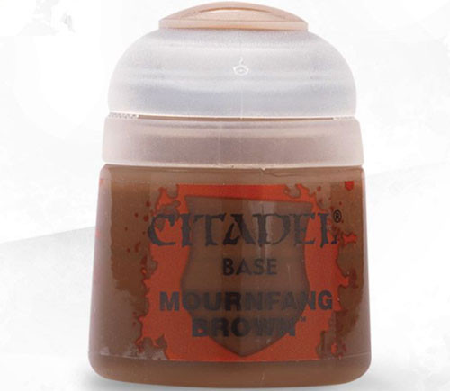 Citadel Base Paint: Mournfang Brown (12ml)