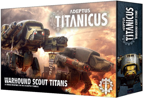 Adeptus Titanicus: Warhound Scout Titans | Table Top Miniatures