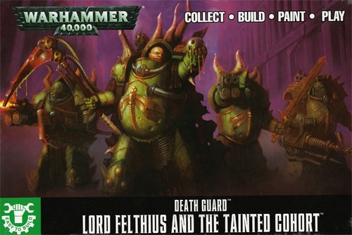 Warhammer 40K: Easy to Build Lord Felthius and the Tainted Cohort