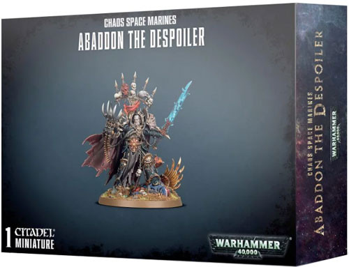Warhammer 40K: Chaos Space Marines - Abaddon the Despoiler | Table