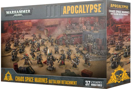 Warhammer 40K: Chaos Space Marines - Battalion Detachment | Table