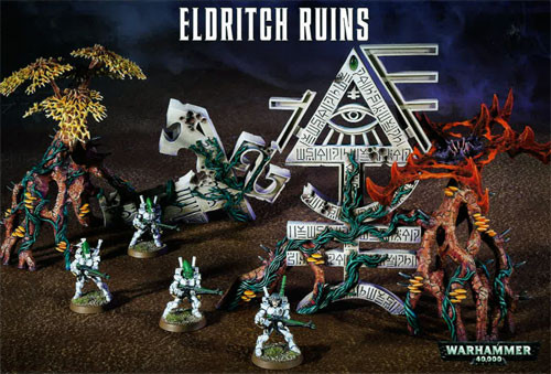 Warhammer 40K: Eldritch Ruins | Table Top Miniatures | Miniature Market