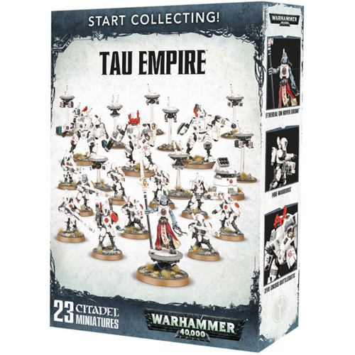Warhammer 40K: Start Collecting! Tau Empire | Table Top Miniatures