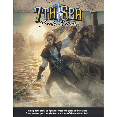 7th Sea RPG (2nd Edition): Pirate Nations   Role Playing Games