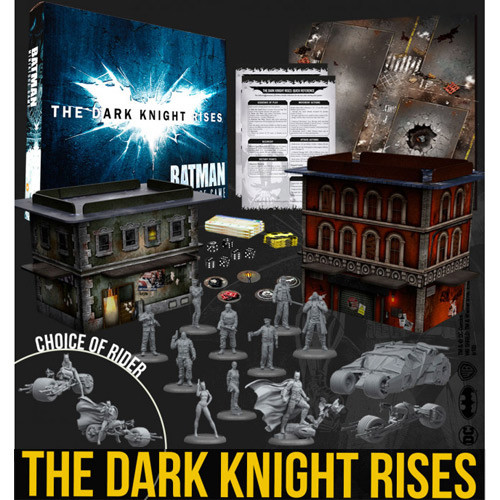 Batman Miniatures Game: The Dark Knight Rises Starter Set