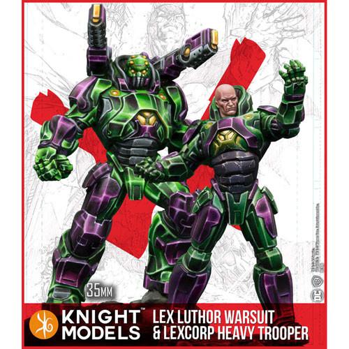 b098352c85433 Batman DC Universe Miniatures Game  Lex Luthor Armor   Heavy Trooper (MV)