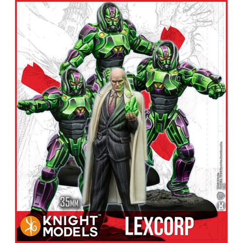 37c41e96ed0bc Batman DC Universe Miniatures Game  Lex Luthor   Lexcorp Troopers (MV)