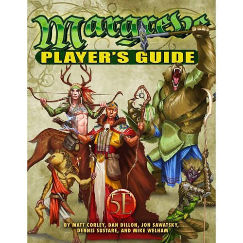 Margreve Player's Guide RPG (D&D 5E Compatible) | Table Top
