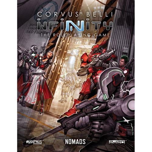 Infinity RPG: Nomads (Softcover) | Role Playing Games | Miniature Market