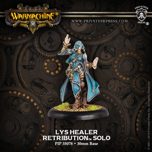 Warmachine: Retribution - Lys Healer Solo (1)
