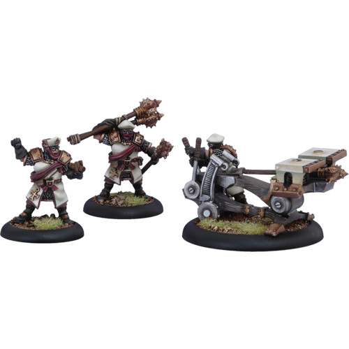 Warmachine: Protectorate - Deliverer Sunburst Crew (3)